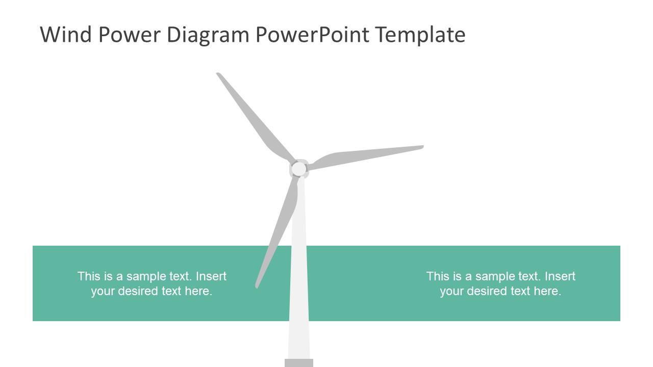 wind power diagram powerpoint template slidemodel