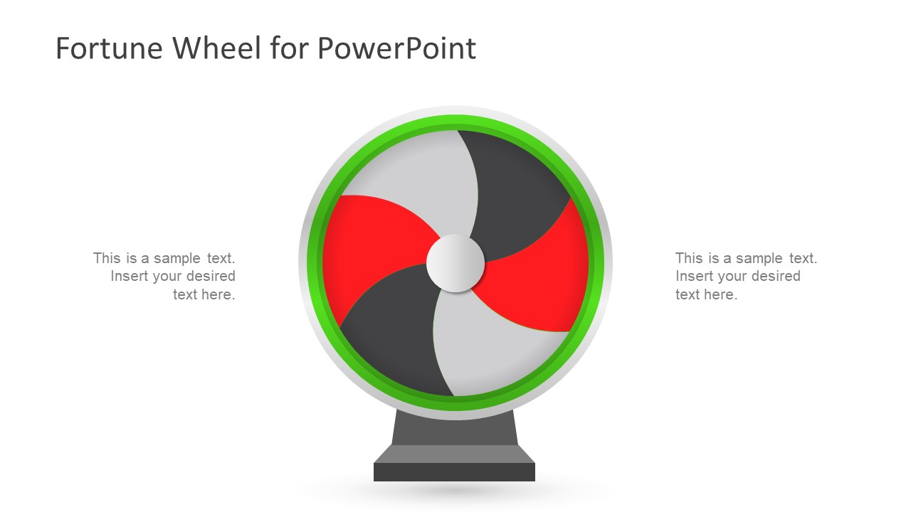 Wheel Diagram Template of Game