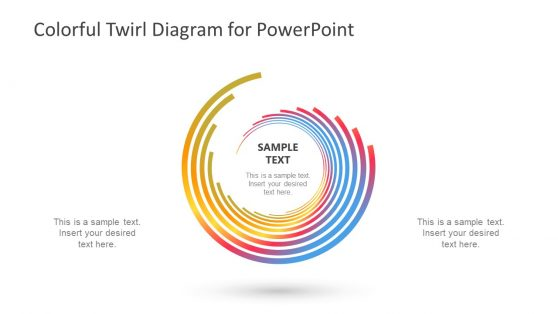 Spiral PowerPoint Diagram Design