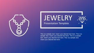 Jewelry Business PowerPoint Template
