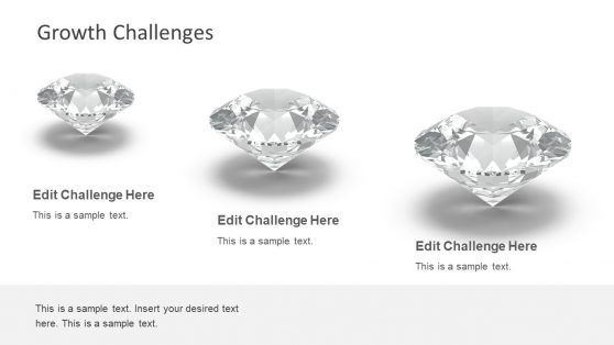 Business Growth in Diamond Shape