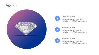 Diamond Presentation of Business Agenda