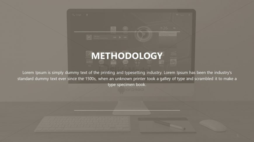 Methodology PPT Photo and Graphics