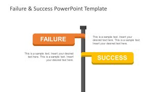 Failure & Success PowerPoint Template