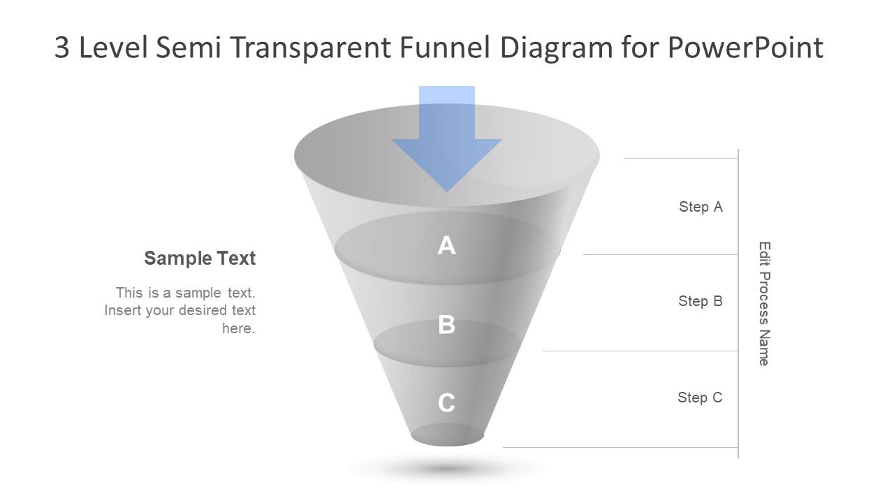 3 Steps PowerPoint Diagram