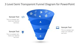 Funnel Diagram Presentation Transparent