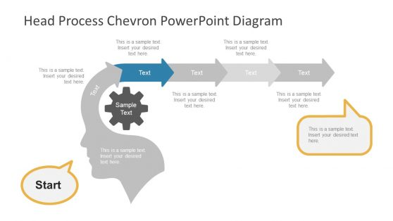 PowerPoint Head Process Diagram