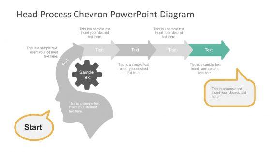 PPT Diagram Head Process