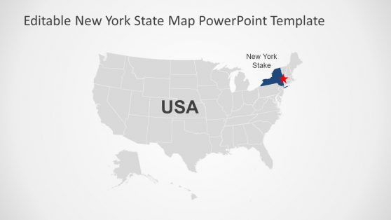 NY State PowerPoint Map