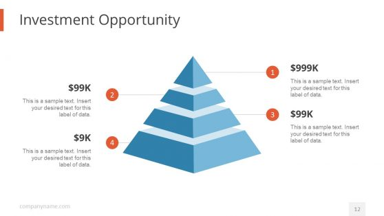Investment Opportunity Pyramid Template