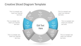 Circular Diagram Template Cycle