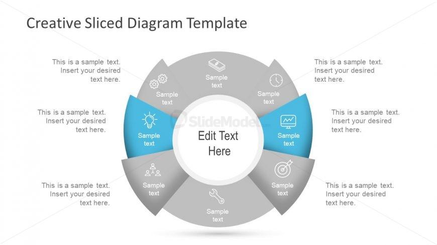 Circular Diagram Template Cycle