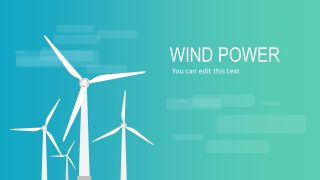 Windmill Energy PowerPoint Slide
