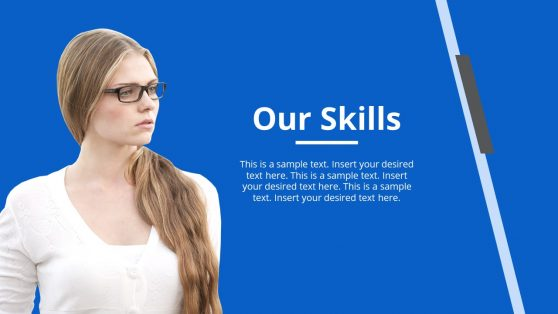 Simple PowerPoint Corporate Skills Template