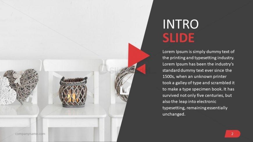 Intro Slide for Interior Design Professional