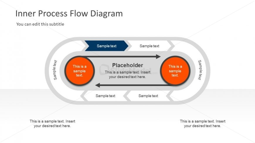 Creative PowerPoint Diagram Inner Circle