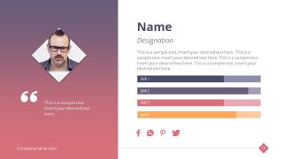Employee Introduction Template PowerPoint