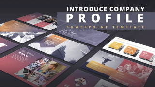 Introduce Company Profile PowerPoint Template