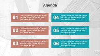 PPT Agenda Slide for Business