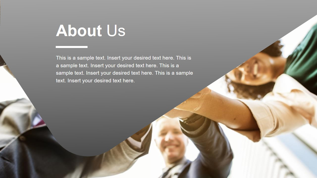 Company Introduction Layout Design