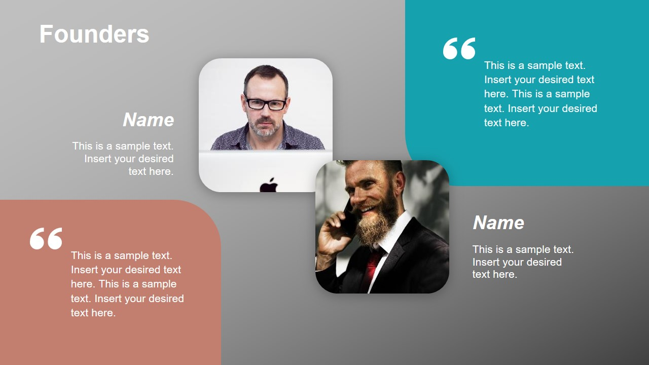 Company Team PowerPoint Template