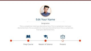 Creative Resume Presentation Template