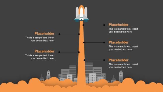 Space Launch Timeline Presentation