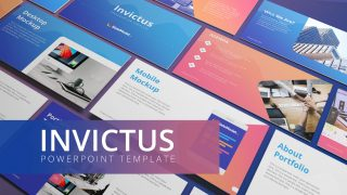 Invictus PowerPoint Templates Cover