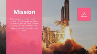 Business Mission Presentation Design