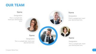 Invictus Business Profile Design Team