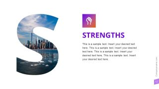 Strengths Slide Photo Template
