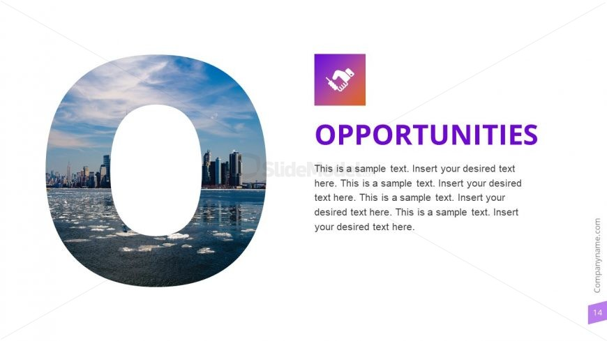 Opportunities Slide Photo Template
