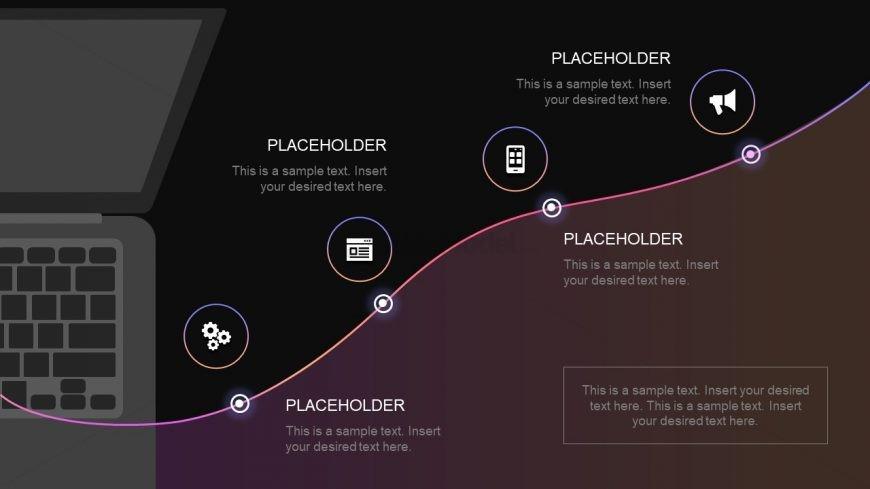 PowerPoint Technology Roadmap Design