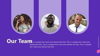 Tab Style Team Presentation