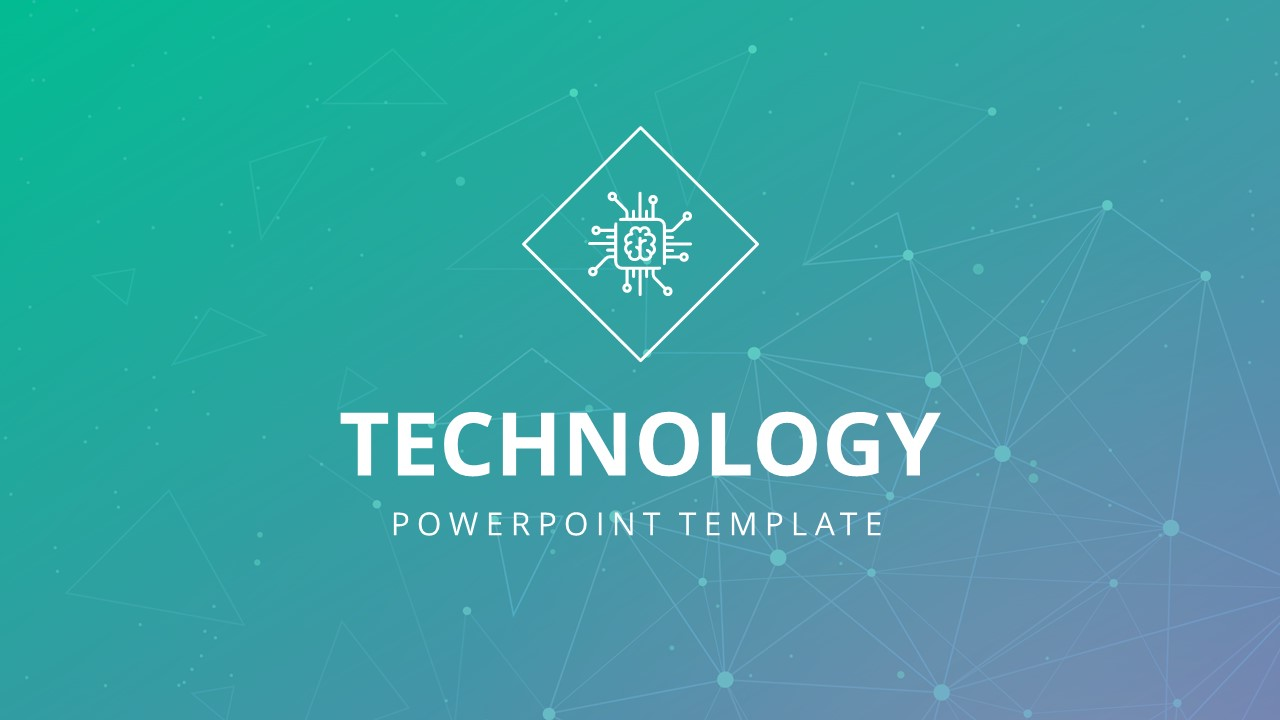 Technology PowerPoint Digital Circuit