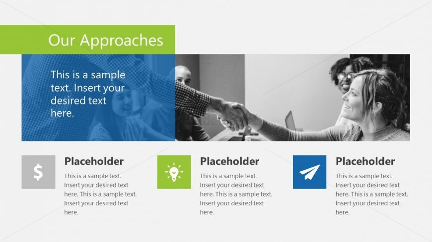 Our Approach PowerPoint Background