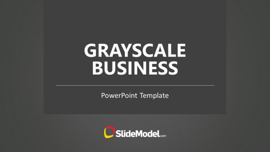 Grayscale Business Presentation Design