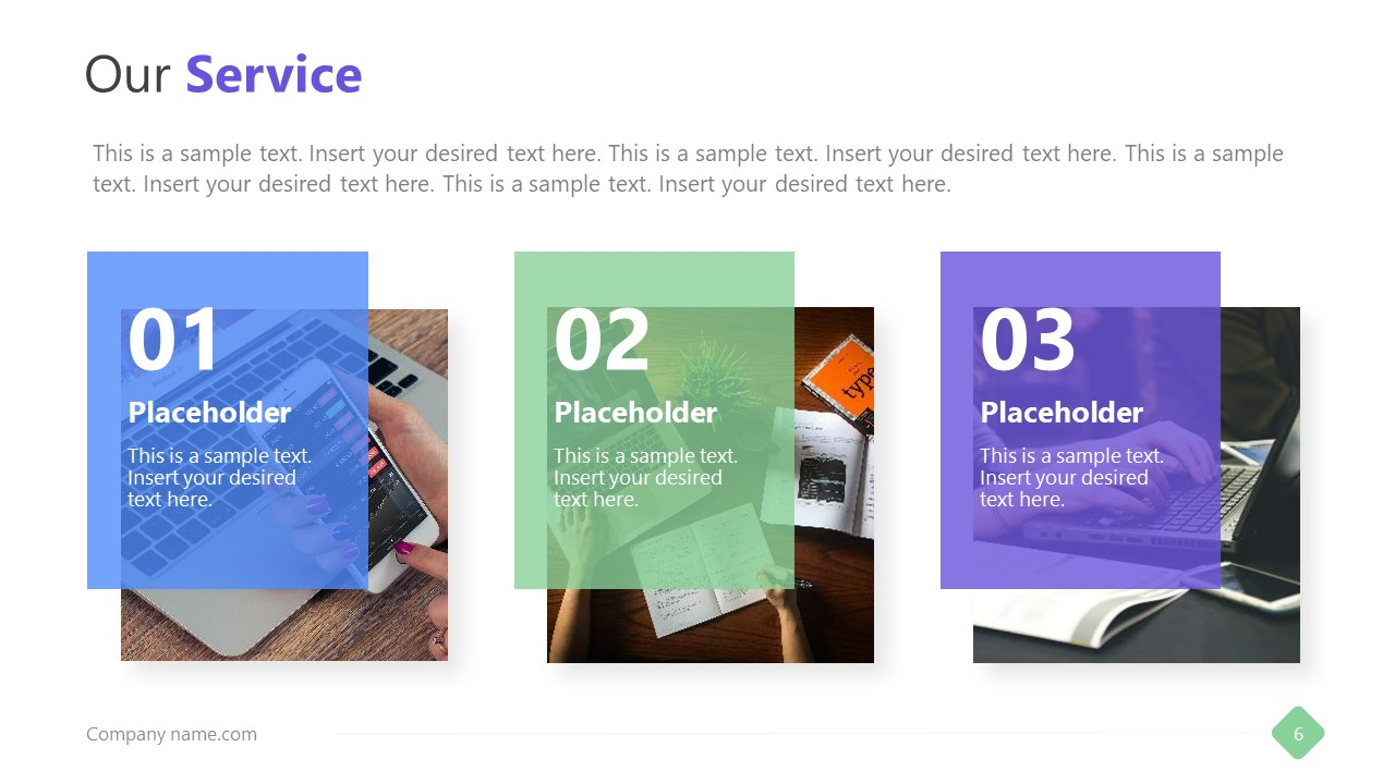 Slide or Company Service Design