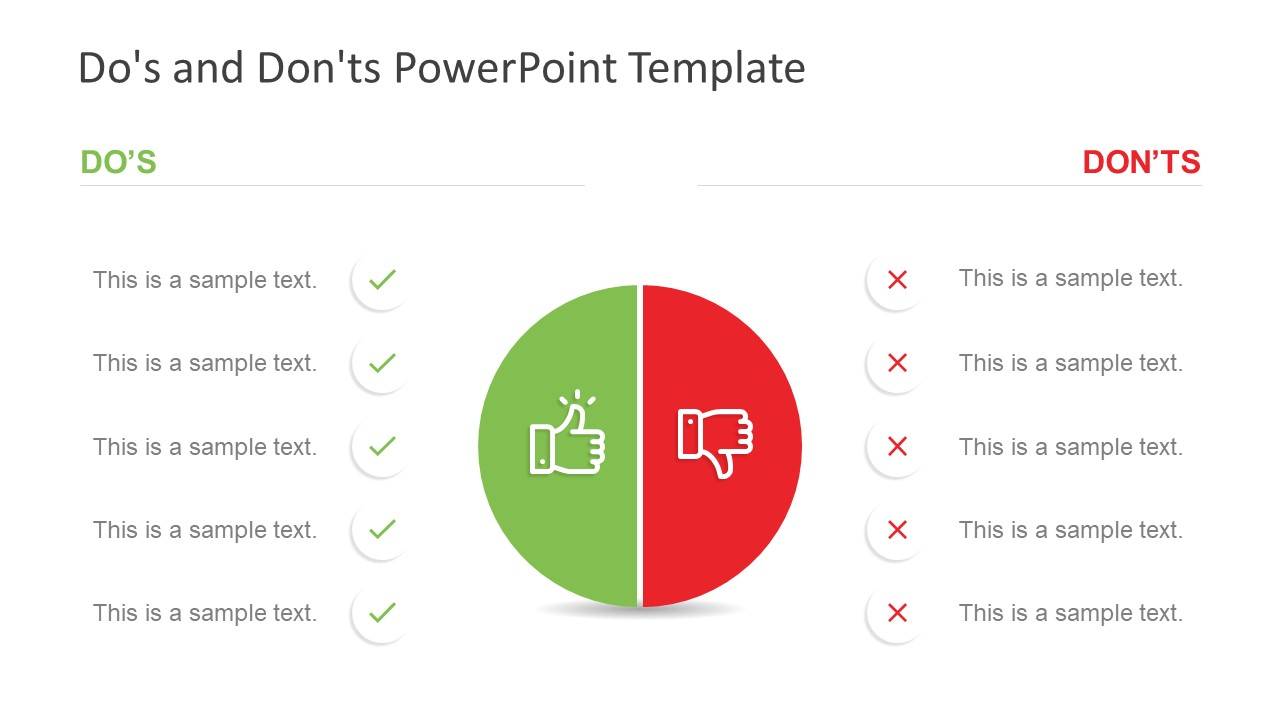 PPT Thumbs Up and Down