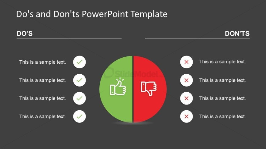 PowerPoint Compare Dos and Donts