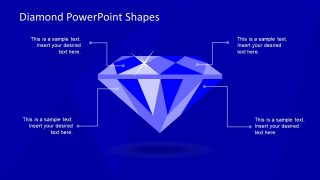 Slide of Diamond Shape