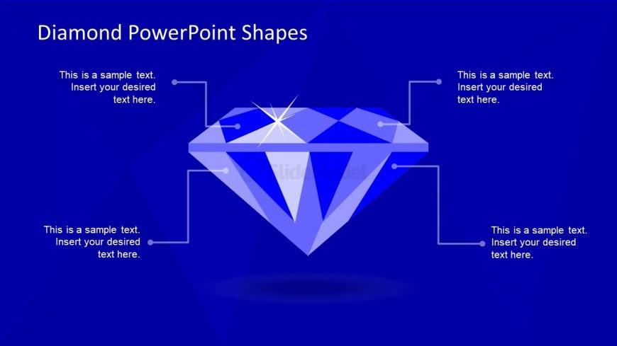 Slide of Diamond Shape