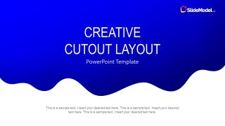 Creative Cutout Layout for PowerPoint