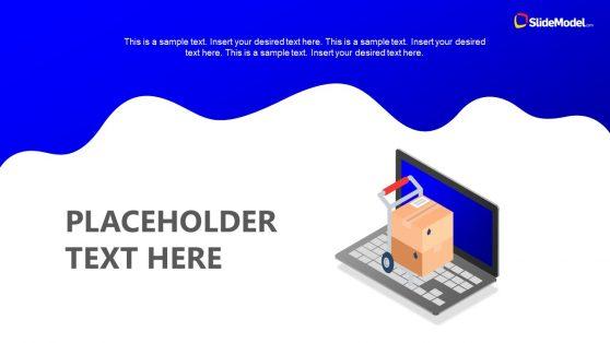 Editable PowerPoint Cutout Layout