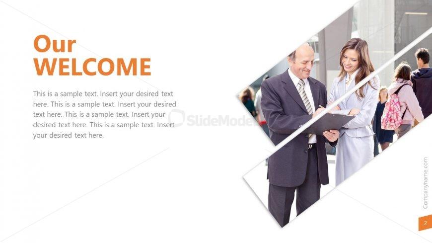 Creative Graphic Presentation Design