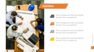 Presentation Agenda List PowerPoint