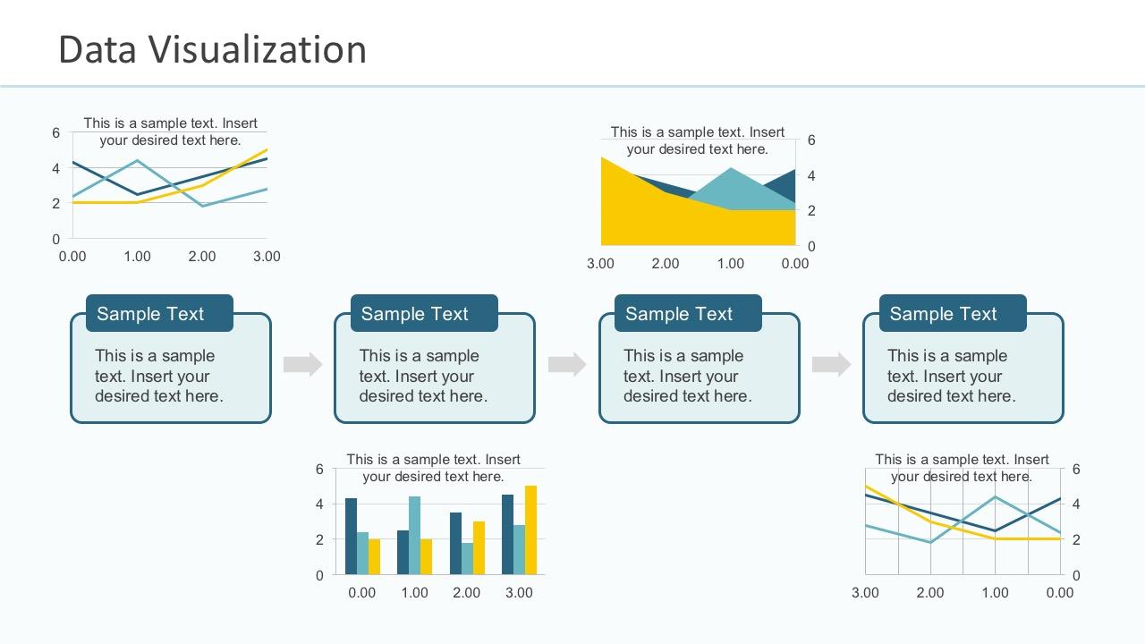 PowerPoint Data Visual Presentation Slides