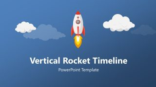 Rocket Timeline PowerPoint Template