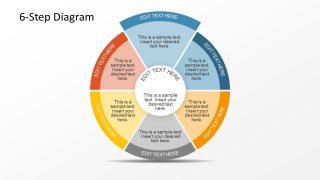 6 Steps Business Presentation PowerPoint