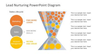 Lead Nurturing PowerPoint Diagram